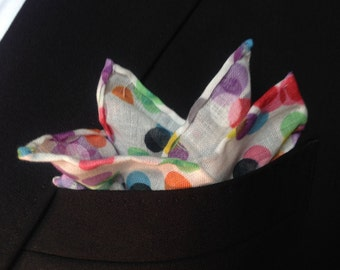 Confetti Pocket Square
