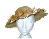 Winsome Wonder - 1920's 1930's Vintage Wide Brim Hat