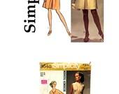 Vintage Retro Dress Pattern,  1969 Simplicity Designer Fashion, Formal Dress, Mother of the Bride, Misses Size 16, Bust 38, Simplicity 8648