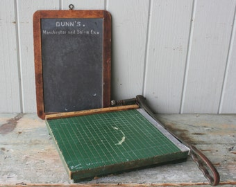 Old School Vintage 10 inch Paper Cutter