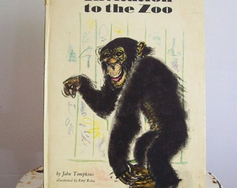 1st Edition hardcover book  Invitation to the Zoo John Tompkins original text Marta Gergely 1967 childrens book great conditon