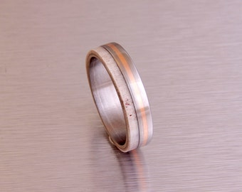 antler ring titanium ring titanium wedding band deer antler band men ring woman ring copper ilay