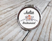 Set of 6 Round Compact Mirrors - Reserved For Celeste