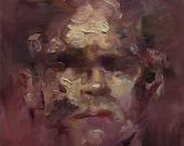 Head III, Original Oil Painting