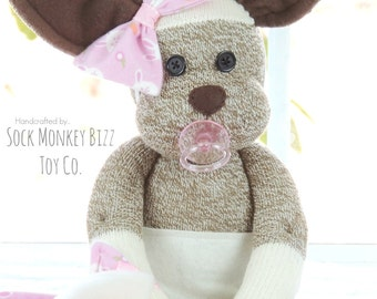 Easter Gift, Bunny Rabbit Baby Doll with Pacifier and Blanket, Children's Plush Toy