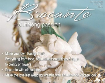 Jeanne d'Arc Living Magazine March 2016 - 3rd Issue, Brocante - A Lifelong Passion - PRE ORDER