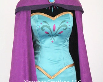 Snow Queen Elsa Coronation Costume
