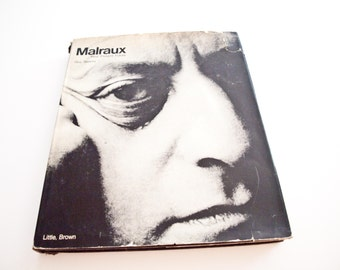 MALRAUX Book / Past Present Future 1974 /Guy Suares