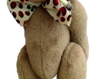 Brambley-Tum soft toy teddy bear sewing pattern