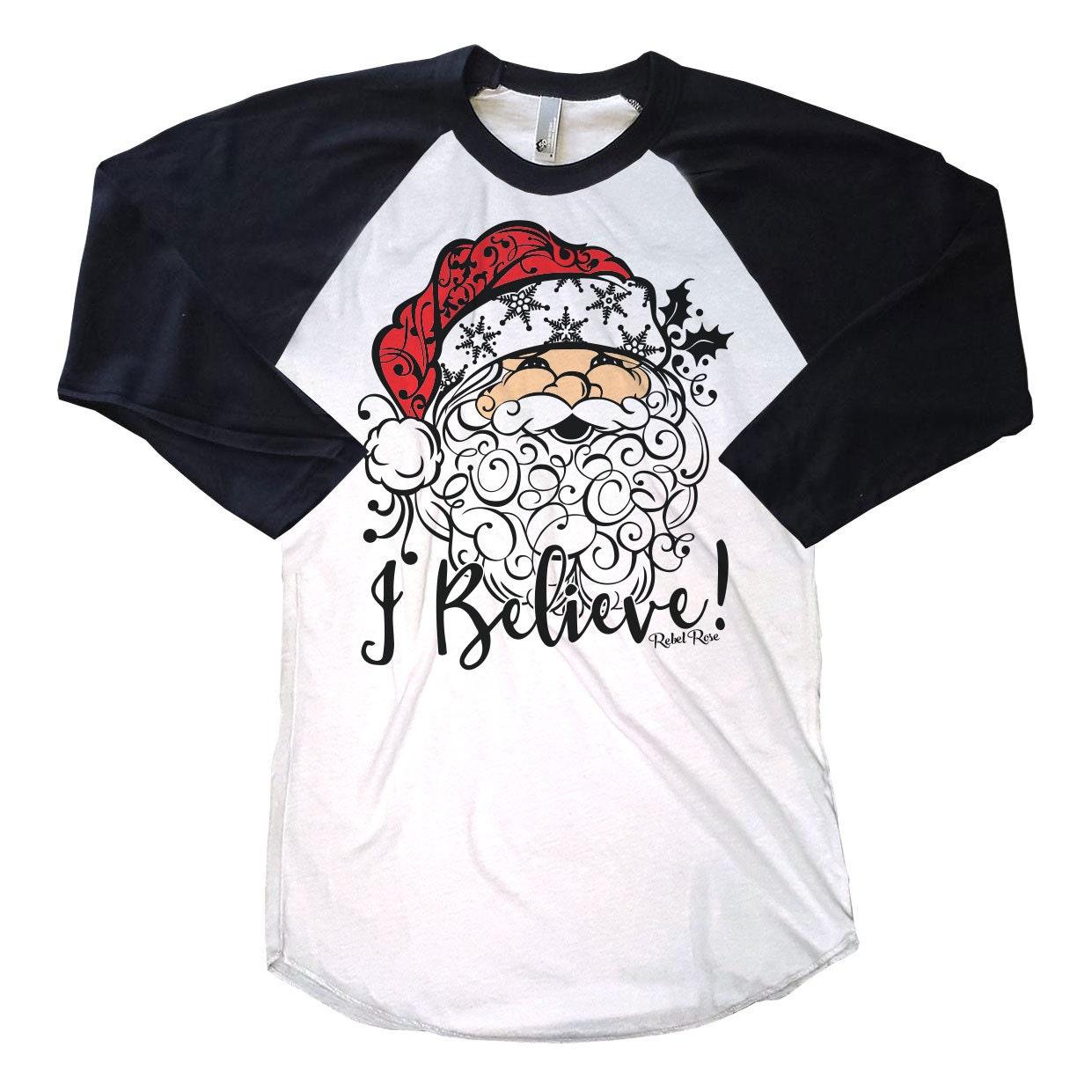 Christmas Shirts Womenu0026#39;s Christmas Shirts I Belive