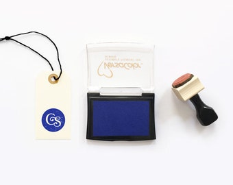 """Ink Pad """"F"""" Royal Blue, Bright Blue, Primary Blue"""