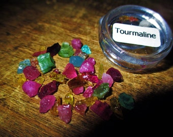 FULL Chakra Allignment Tourmaline collection - Negative Transmute to Positive, Passion, Awaken, Romance, True Love, Success, Joy, Happiness