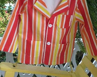 Bert's Jolly Holiday Jacket - Boys Size 2 - 10