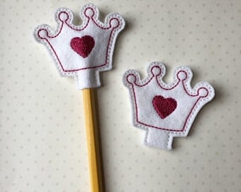 Princess Pencil Topper- Sets of 10 for 10.00 are available