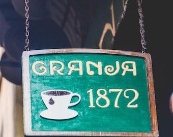 Granja 1872 // 5x7 Spain Print // Coffee Photography