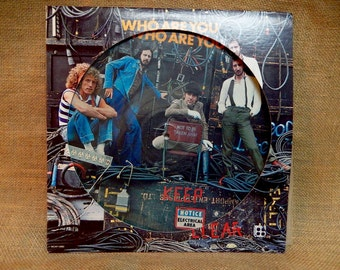 The Who - Who Are You - 1978 Vintage Vinyl Record Album...Picture Disc