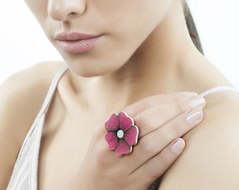 Large Flower Ring – Fun Rings for Women