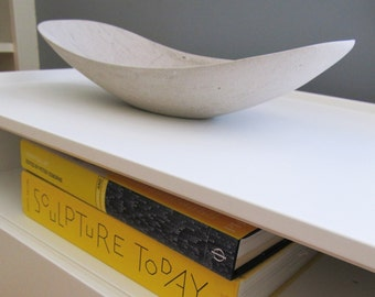 Oblong Limestone Bowl -  Medium