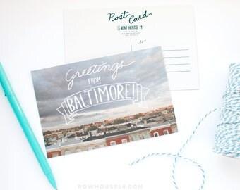 Baltimore Postcard - Post Card Set - Greetings from Baltimore
