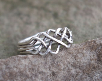 Puzzle Ring Size 7 and 3/4