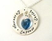 Social Worker Gift | Social Worker Necklace | Encourage, Empower, Enrich Necklace