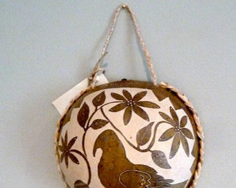 Decorative Nicaraguan Gourd Art- All profits to charity!