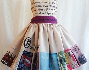 Once Upon A Time Book Dress,Special Occasion Literature Dress By Rooby lane