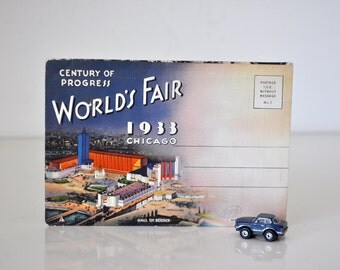 Worlds Fair Chicago 1933 Picture Book Pullout