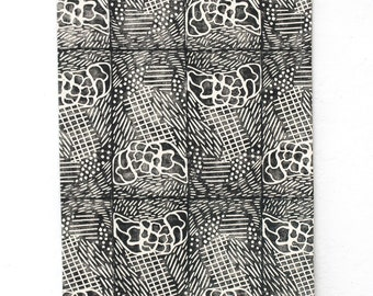 Airpatch Block Printed Wall Textile