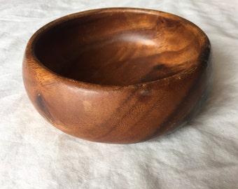 Vintage Wooden Bowl