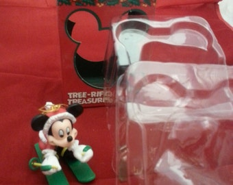 Mickey Mouse Vintage Christmas Tree Ornament, Hanging Ornament, Disney, Enesco, Mickey Mouse Collectible (B0027)
