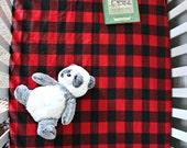 Buffalo Plaid Crib Sheet, Baby Boy or Baby Girl, Flannel, Gingham, Toddler Bedding, Custom design, Nursery Decor