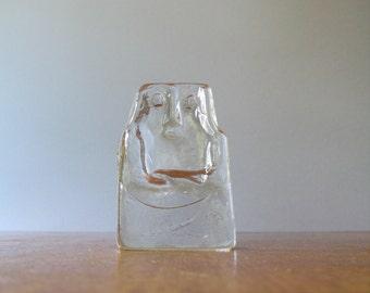 Vintage Boda Figural Sculpture / Paperweight - Hoglund