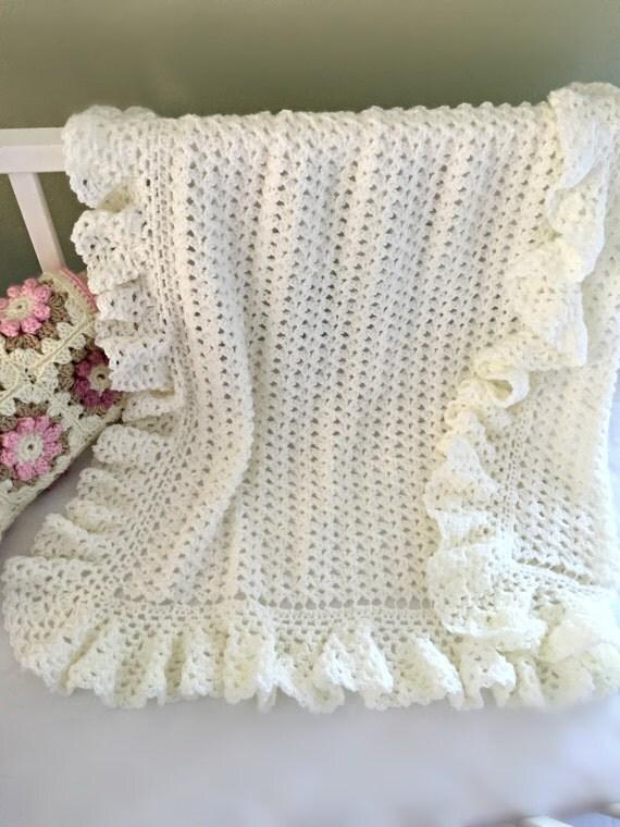 Crochet Baby Blanket Pattern Baby Blanket by ...