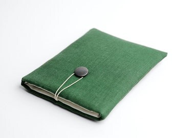 11 inch Macbook sleeve, green