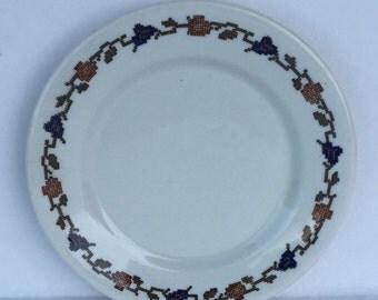 Limoges China Warwick China Division Dish 6 1/4 inch  Ironstone Restaurant Ware