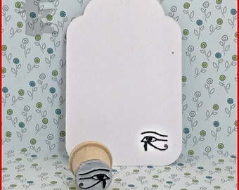 Eye of the Horus Rubber Stamp