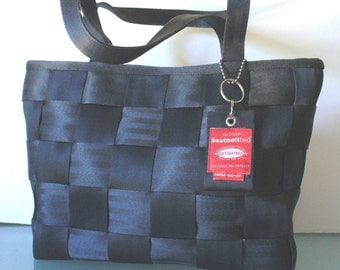 The Original SeatBeltBag  Black Tote