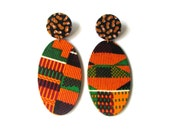 Fyah Drops Stud Earrings