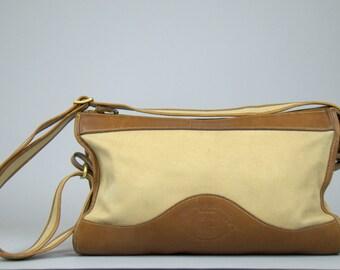 Vintage Ghurka Travel Bag Marley Hodgson Original #10 The Envoy Leather Twill Business Tote Bag