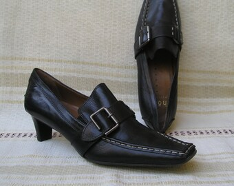 Högl vintage 90s leather shoes, size 37 (EUR), 6.5 (US)