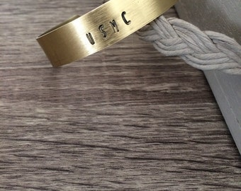 Custom Military  Stamped Bangle Milso Gifts