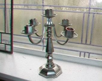 Vintage 5 Light Candelabra