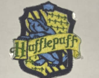 Huffelpuff Harry Potter Iron On Patch Embroidered