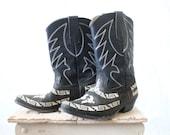 RESERVE aztec eagle boots / 7
