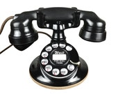 Antique 1920s Western Electric Desktop Telephone, Rotary Dial, Beautiful, Refurbished, Working, Rare