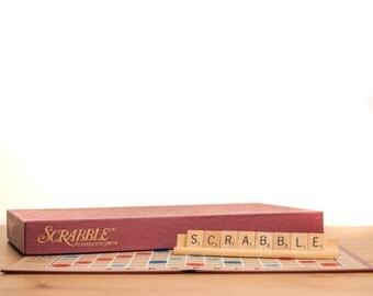 Vintage Scrabble Board & Pieces - Complete!