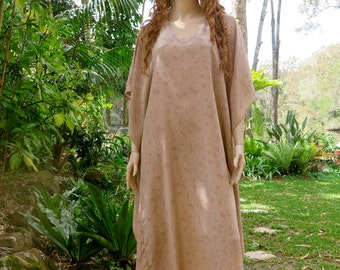 Long Kaftan Dress, Caftan, Cover up, Long Dress