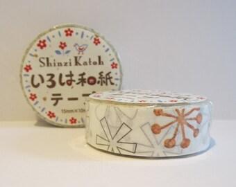 Japanese washi tape - tefu tefu by Shinzi Katoh