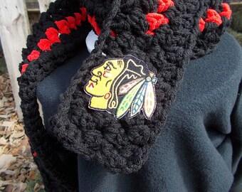 Chicago Blackhawks simple scarf blackhawks scarf simple blackhawks scarf chicago simple scarf chicago scarf